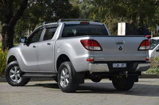 2016 Mazda BT-50 UR0YG1 XT Silver, Chrome 6 Speed Sports Automatic Utility.
