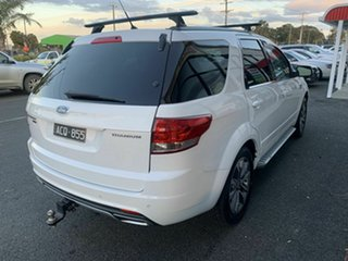 2014 Ford Territory SZ MK2 Titanium (RWD) White 6 Speed Automatic Wagon