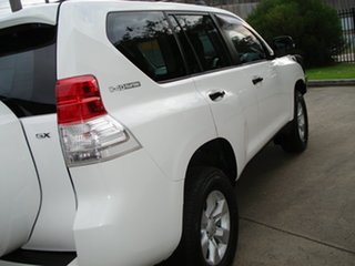 2012 Toyota Landcruiser Prado KDJ150R GX White 5 Speed Sports Automatic Wagon