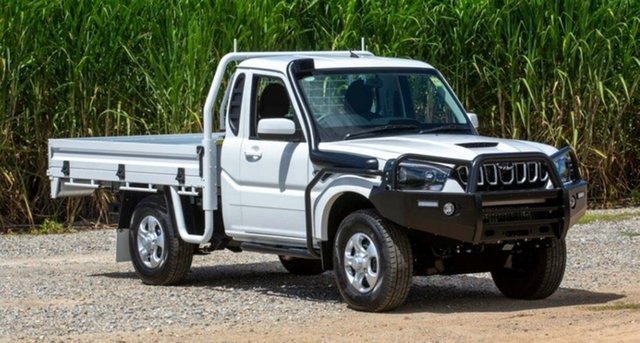 New Mahindra Pik-Up MY20 4WD S6+ Pastoral Pack, 2020 Mahindra Pik-Up MY20 4WD S6+ Pastoral Pack White 6 Speed Manual Cab Chassis