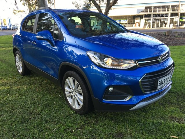 Used Holden Trax TJ MY16 LTZ, 2016 Holden Trax TJ MY16 LTZ Blue 6 Speed Automatic Wagon