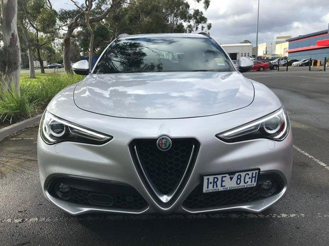 Used Alfa Romeo Stelvio  AWD, 2019 Alfa Romeo Stelvio AWD Silver 8 Speed Sports Automatic Wagon