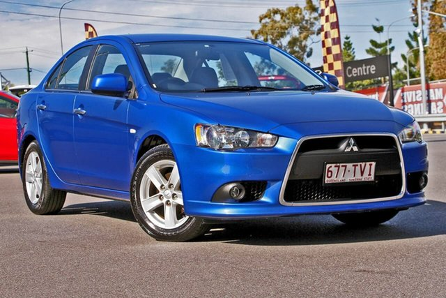 Used Mitsubishi Lancer CJ MY14.5 LX, 2014 Mitsubishi Lancer CJ MY14.5 LX Blue 6 Speed Constant Variable Sedan