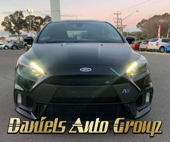 Used Ford Focus LZ RS, 2016 Ford Focus LZ RS Black 6 Speed Manual Hatchback