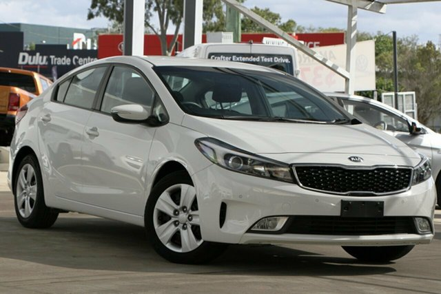 Used Kia Cerato YD MY18 S, 2017 Kia Cerato YD MY18 S White 6 Speed Sports Automatic Sedan