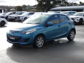 2011 Mazda 2 DE10Y1 MY10 Neo Blue 4 Speed Automatic Hatchback.