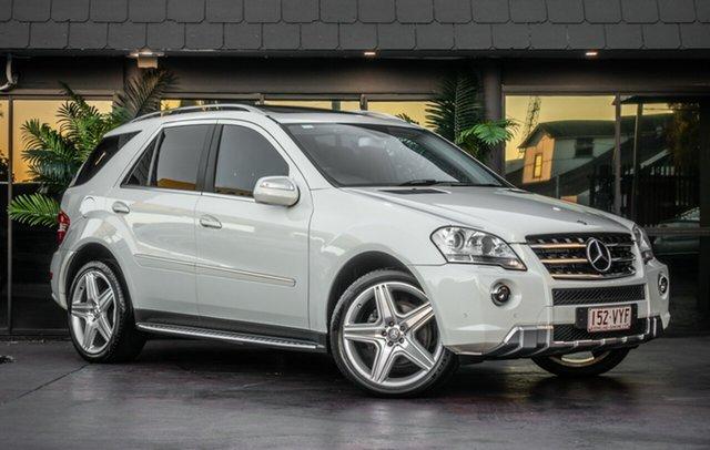 Used Mercedes-Benz M-Class W164 MY10 ML300 CDI BlueEFFICIENCY, 2010 Mercedes-Benz M-Class W164 MY10 ML300 CDI BlueEFFICIENCY White 7 Speed Sports Automatic Wagon