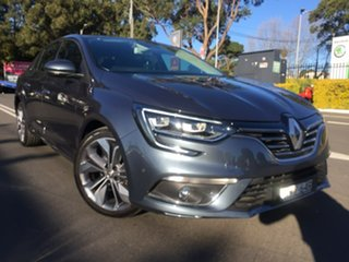 2017 Renault Megane LFF Intens EDC 7 Speed Sports Automatic Dual Clutch Sedan.