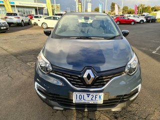 2017 Renault Captur J87 Zen EDC Blue 6 Speed Sports Automatic Dual Clutch Hatchback.