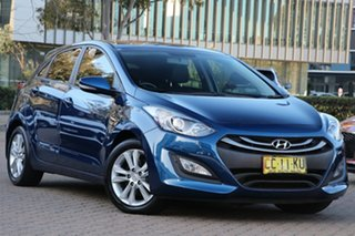 2014 Hyundai i30 GD MY14 SE Blue 6 Speed Automatic Hatchback.