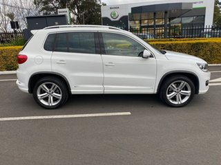 2015 Volkswagen Tiguan 5N MY16 132TSI DSG 4MOTION White 7 Speed Sports Automatic Dual Clutch Wagon