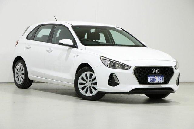 Used Hyundai i30 PD GO 1.6 CRDi, 2018 Hyundai i30 PD GO 1.6 CRDi White 7 Speed Auto Dual Clutch Hatchback