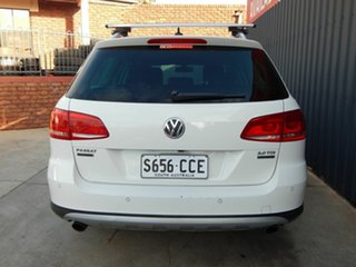 2014 Volkswagen Passat Type 3C MY14.5 Alltrack DSG 4MOTION White 6 Speed