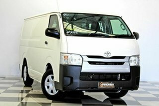 Used Toyota HiAce TRH201R MY15 LWB, 2015 Toyota HiAce TRH201R MY15 LWB White 6 Speed Automatic Van