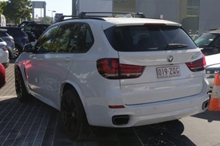 2016 BMW X5 F15 sDrive25d White 8 Speed Automatic Wagon.