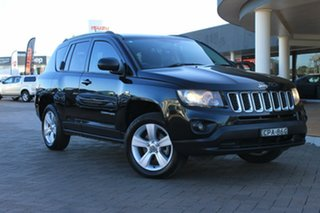 2013 Jeep Compass MK MY14 Sport Black 6 Speed Sports Automatic SUV.