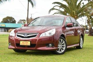 2010 Subaru Liberty B5 MY10 2.5i Lineartronic AWD Premium Maroon 6 Speed Sedan.