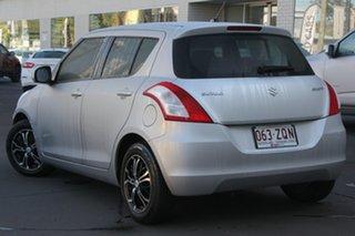 2014 Suzuki Swift FZ MY14 GL Silver 4 Speed Automatic Hatchback.