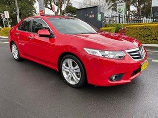 2012 Honda Accord Euro 8th Gen Luxury Navi Red Automatic.