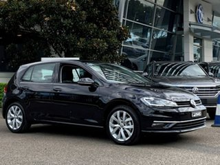 2019 Volkswagen Golf 7.5 MY20 110TSI DSG Highline Black 7 Speed Sports Automatic Dual Clutch.