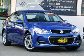 2017 Holden Commodore VF II MY17 SV6 Blue 6 Speed Automatic Sportswagon.