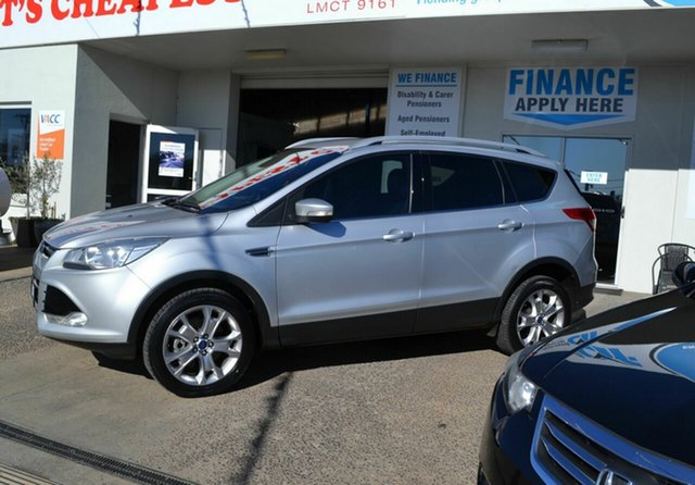 Used Ford Kuga TF Trend (AWD), 2014 Ford Kuga TF Trend (AWD) Silver 6 Speed Automatic Wagon