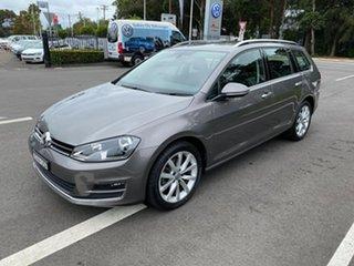 2014 Volkswagen Golf 7 110TDI Highline Grey Sports Automatic Dual Clutch.