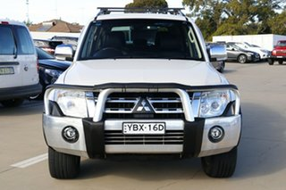2013 Mitsubishi Pajero NW MY13 Exceed White 5 Speed Sports Automatic Wagon