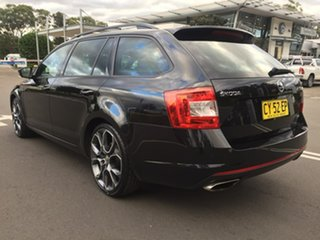 2015 Skoda Octavia NE MY15.5 RS DSG 162TSI Black 6 Speed Sports Automatic Dual Clutch Wagon