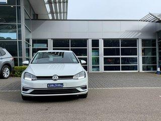 2019 Volkswagen Golf 7.5 MY20 110TSI DSG Comfortline White 7 Speed Sports Automatic Dual Clutch.