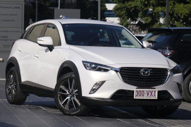 Used Mazda CX-3 DK4WSA sTouring SKYACTIV-Drive i-ACTIV AWD, 2015 Mazda CX-3 DK4WSA sTouring SKYACTIV-Drive i-ACTIV AWD White 6 Speed Sports Automatic Wagon