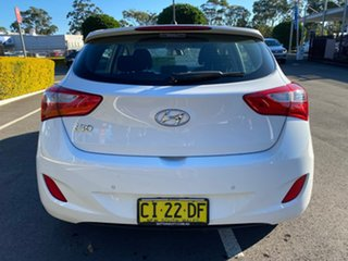 2016 Hyundai i30 GD4 Series II Active White Sports Automatic