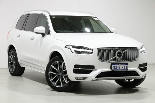 Used Volvo XC90 256 MY17 T6 Inscription (AWD), 2016 Volvo XC90 256 MY17 T6 Inscription (AWD) White 8 Speed Automatic Geartronic Wagon
