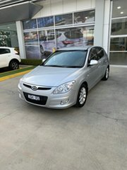 2008 Hyundai i30 FD SLX Silver 4 Speed Automatic Hatchback.