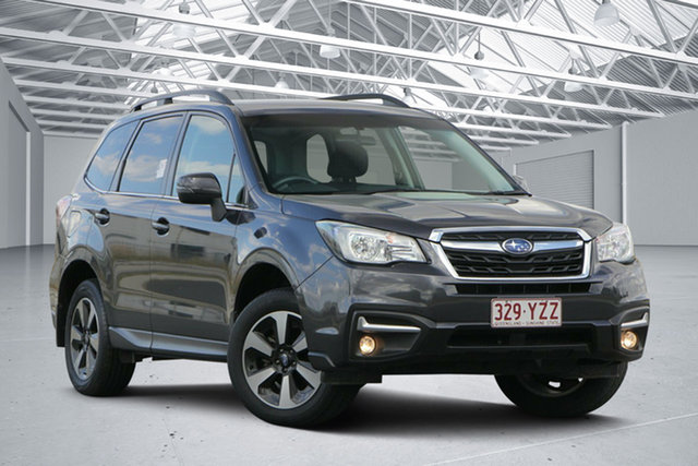 Used Subaru Forester MY18 2.5I-L, 2017 Subaru Forester MY18 2.5I-L Black Continuous Variable Wagon