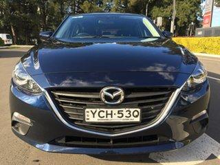 2014 Mazda 3 BM5478 Touring SKYACTIV-Drive Blue 6 Speed Sports Automatic Hatchback.