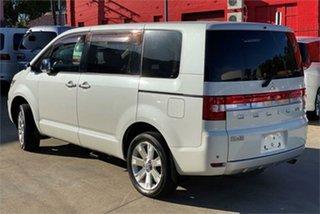 2007 Mitsubishi Delica D:5 CV5W Roadest G Premium White Constant Variable Van Wagon.