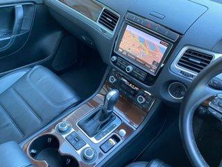 2017 Volkswagen Touareg 7P V6 TDI Silver Sports Automatic
