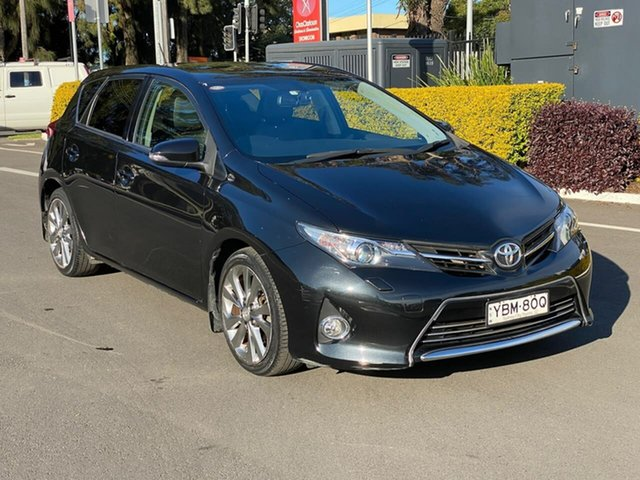 Used Toyota Corolla ZRE182R Levin S-CVT ZR, 2014 Toyota Corolla ZRE182R Levin S-CVT ZR Black 7 Speed Constant Variable Hatchback