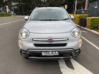 2017 Fiat 500X 334 Cross Plus AWD Silver 9 Speed Sports Automatic Wagon.
