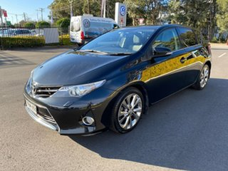 2014 Toyota Corolla ZRE182R Levin S-CVT ZR Black 7 Speed Constant Variable Hatchback.