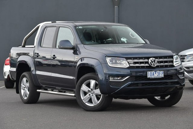 Used Volkswagen Amarok 2H MY18 TDI550 4MOTION Perm Highline, 2018 Volkswagen Amarok 2H MY18 TDI550 4MOTION Perm Highline Blue 8 Speed Automatic Utility
