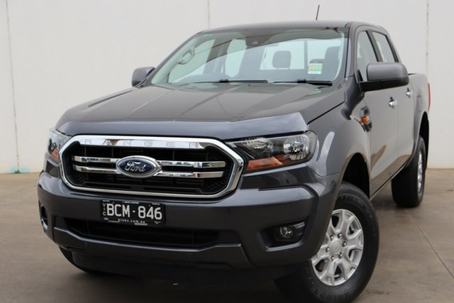 Demo Ford Ranger PX MkIII 2019.75MY XLS Pick-up Double Cab, 2019 Ford Ranger PX MkIII 2019.75MY XLS Pick-up Double Cab Meteor Grey 6 Speed Sports Automatic