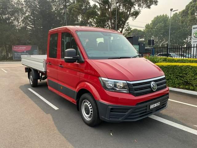 Used Volkswagen Crafter SY1 MY18 35 LWB TDI410, 2018 Volkswagen Crafter SY1 MY18 35 LWB TDI410 Red 8 Speed Automatic Cab Chassis