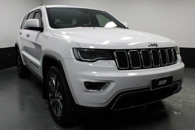 Used Jeep Grand Cherokee WK MY18 Limited, 2018 Jeep Grand Cherokee WK MY18 Limited White 8 Speed Sports Automatic Wagon