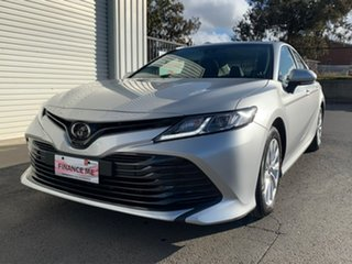 2019 Toyota Camry Ascent Silver Sports Automatic Sedan.