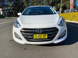 2016 Hyundai i30 GD4 Series II Active White Sports Automatic.