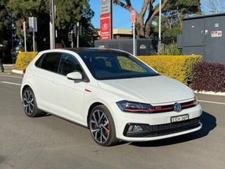 2019 Volkswagen Polo AW GTi White Sports Automatic Dual Clutch.