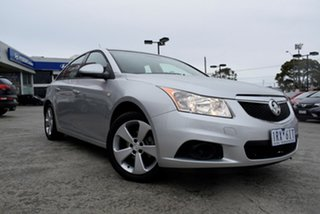 2012 Holden Cruze JH Series II MY12 CD Silver 6 Speed Sports Automatic Sedan.