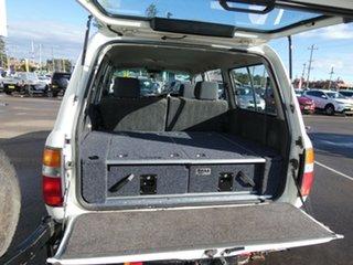 1996 Toyota Landcruiser FZJ80R GXL White 4 Speed Automatic Wagon